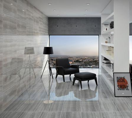 300x 600 High Gloss Veined Stone Effect